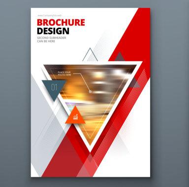 book title brochure design